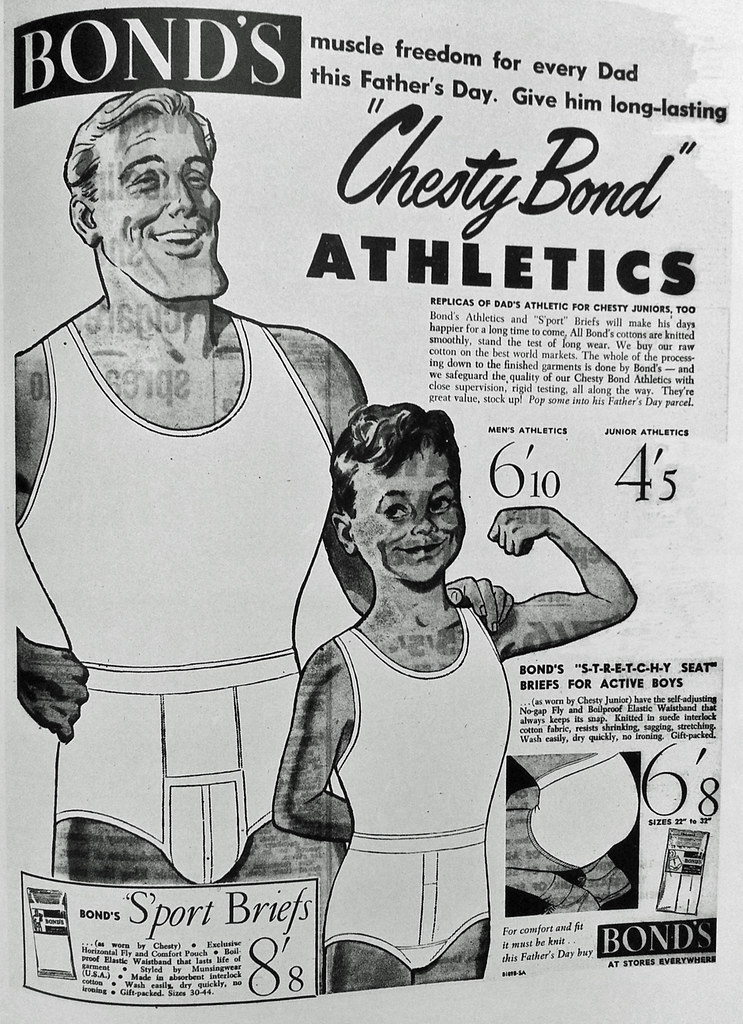 """Chesty Bond"" for Fathers' Day"
