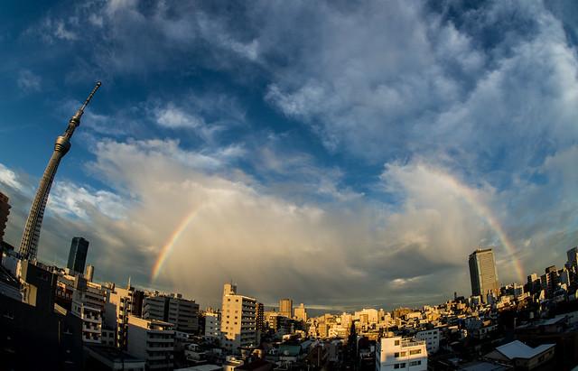 splitting rainbow