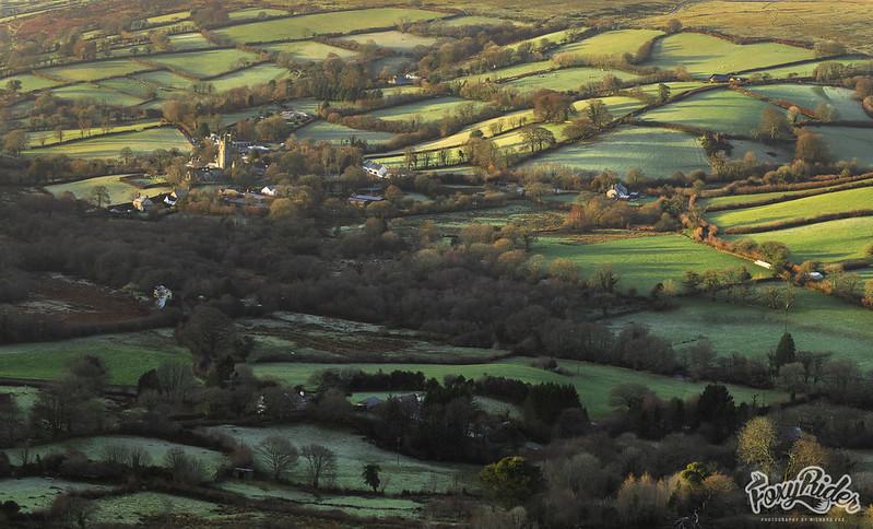 Widdecombe-In-The-Moor Sunlit