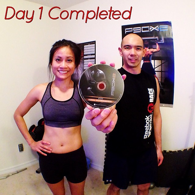 Day 1, #p90x3!! Total Synergistics is pretty much a full b