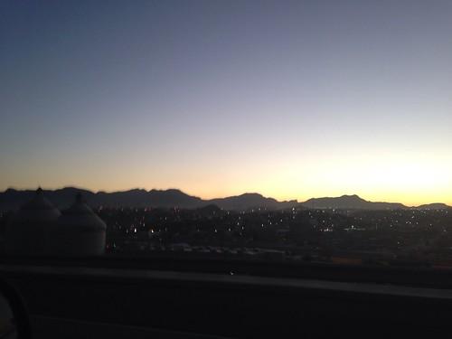 sunset evening clear elpasotexas