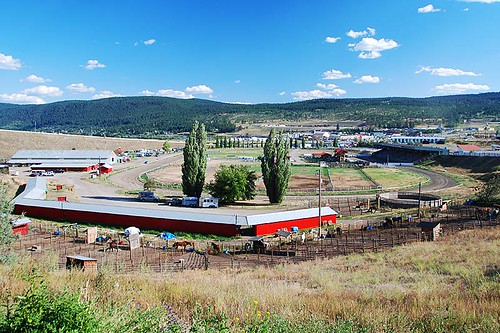Stampede Grounds, Williams Lake, Highway 97, Cariboo, British Columbia, Canada