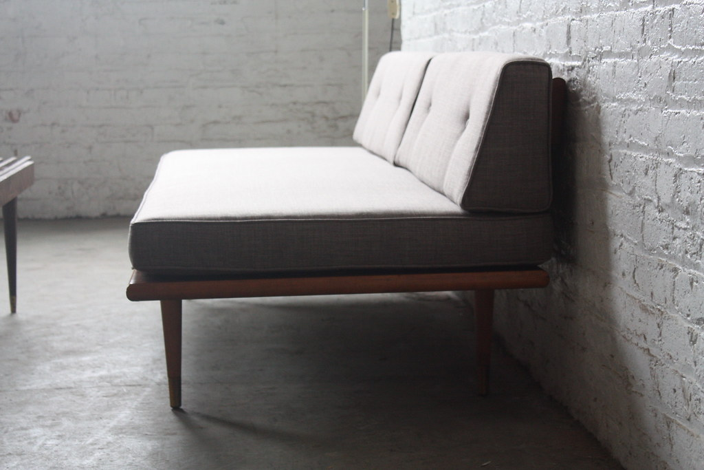 Marvelous Assured Mid Century Modern Daybed Sofa U S A 1960S Flickr Alphanode Cool Chair Designs And Ideas Alphanodeonline