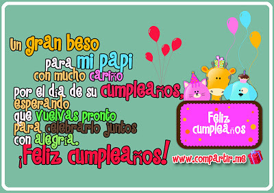 Frase De Feliz Cumpleaños Para Dedicar A Papá Descargar Gr