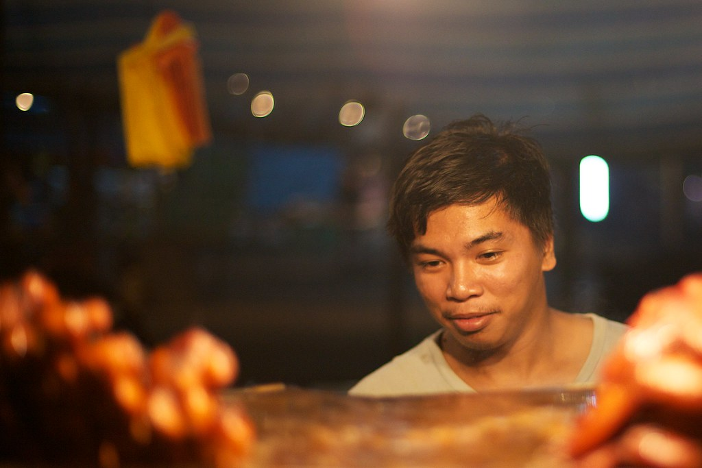 Face of the night market