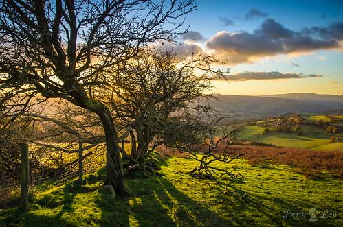sunset wales cymru breconbeacons sugarloaf soulful rollinghills monmouthshire nikond5100