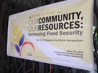the first food bank symposium in the Philippines, Our Community, Our Resources: Increasing Food Security | by Second Harvest Asia
