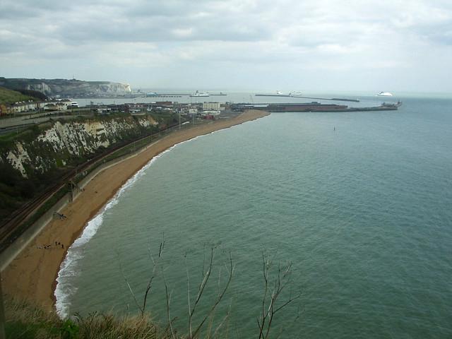 The beach near Dover