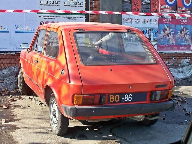 Fiat 127 900 L - 1980