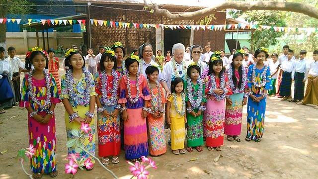 Visita di sr. Vilma in Cambogia e Myanmar