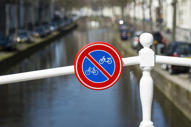 No parking on the brigde