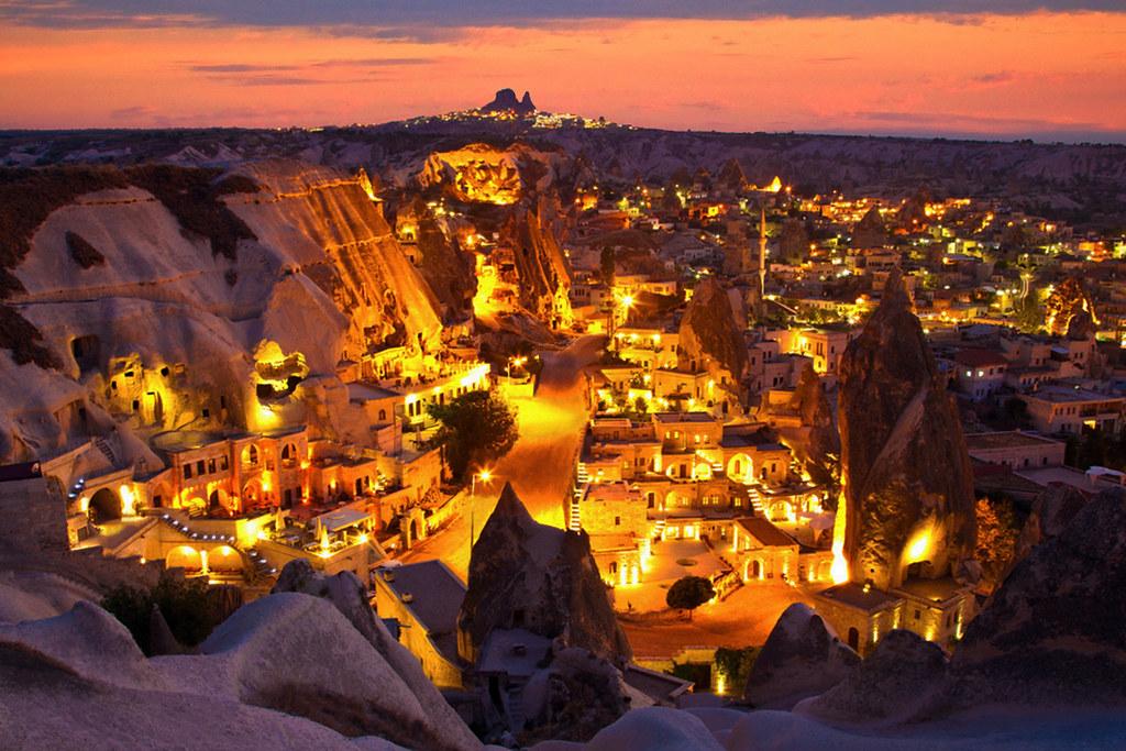 Kapadokya(cappadocia), Göreme | Göreme Aşk Tepesinden