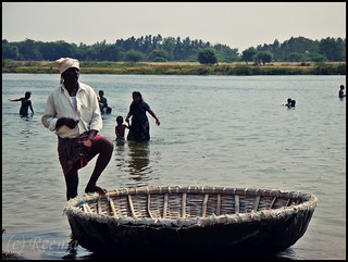 The coracle man | by Rima_B