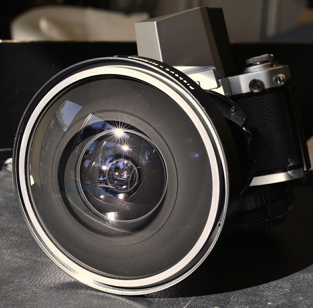 Very clean! Nikkor 8mm Fisheye circular