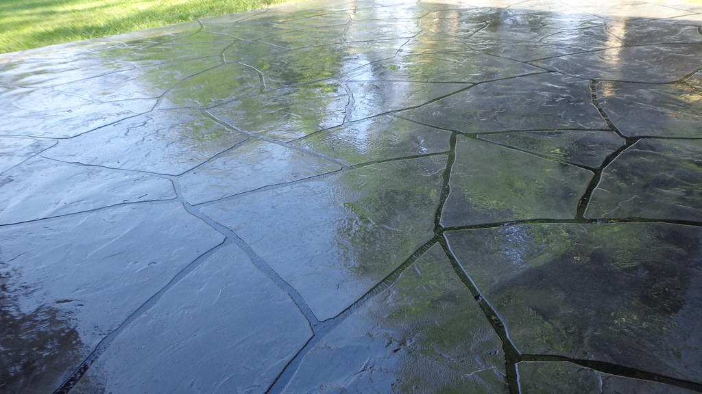 Grand Flagstone Patio | Theconcreteprotector.com | Flickr