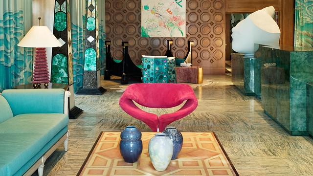 The Viceroy Miami designed by Kelly Wearstler