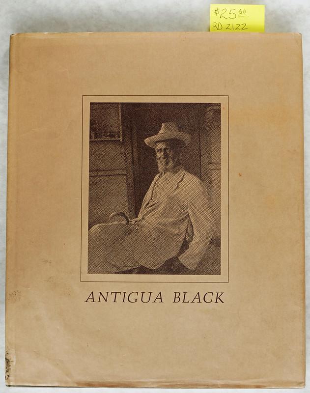 RD2122 Antigua Black - Portrait of an Island People - Davis - Scrimshaw Press © 1973 DSC05033