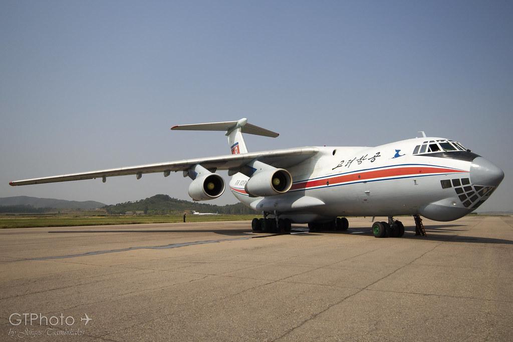 Air Koryo Ilyushin Il 76 Parked At Pyongyang Sunan Airport Flickr