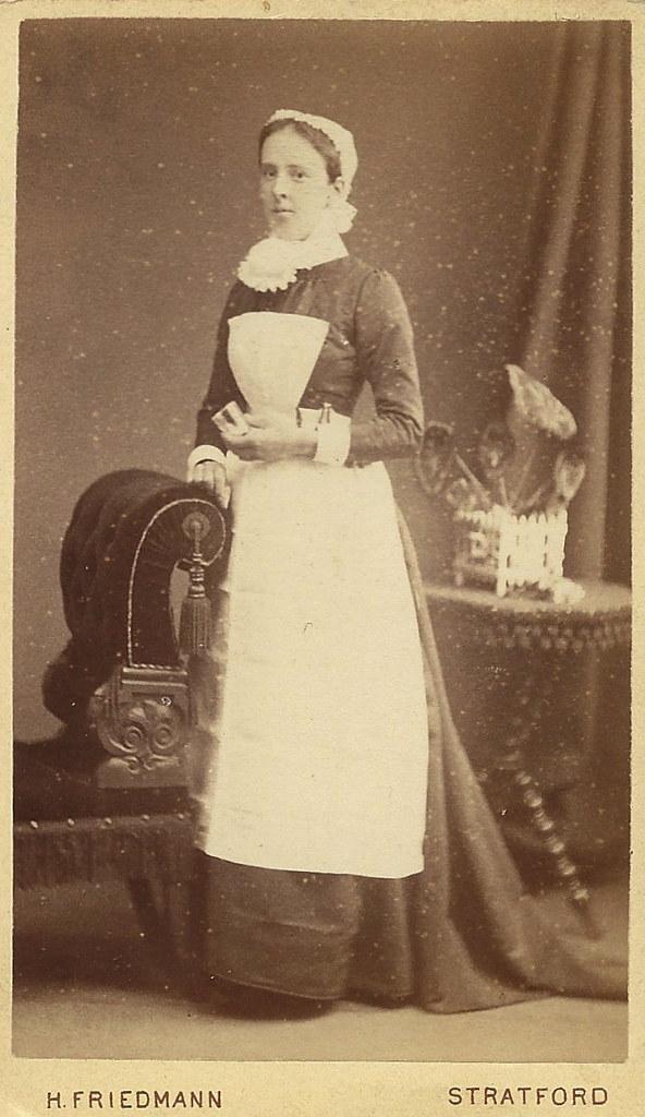 900c4b0e7f3 Victorian Nurse CDV Stratford | Peter Maleczek | Flickr
