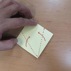 วิธีพับกระดาษเป็นดอกกุหลายแบบเกลียว 006