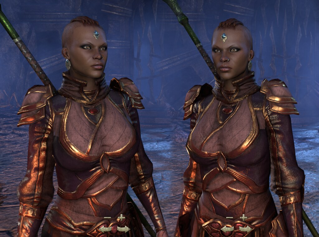 The Elder Scrolls Online Beta | Redguard from TESO beta ... Play Elder Scrolls Redguard Online
