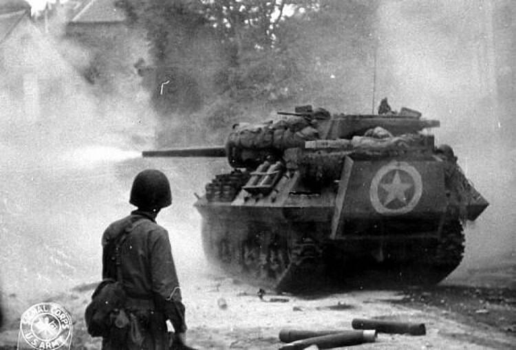 美国M10坦克歼击车