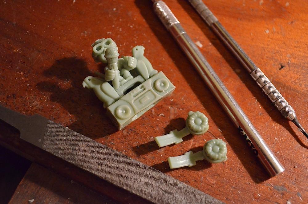 Rebecca Rose Sculpture Rings Birdman Art Jewelry Sculpturings Soaring 8