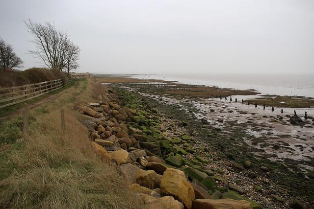 The Humber estuary at Kilnsea