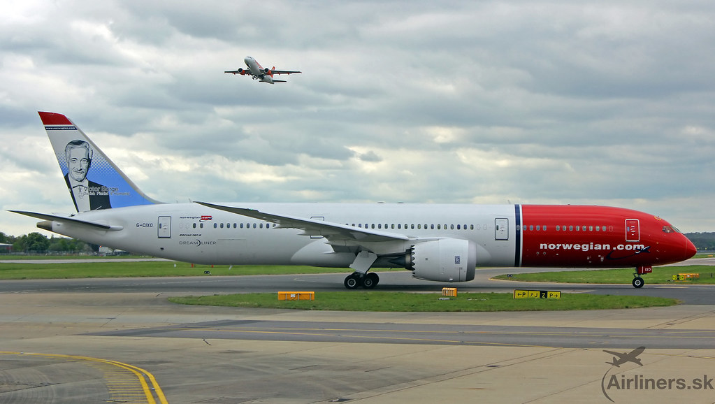 G-CIXO Norwegian Air UK Boeing 787-9 Dreamliner