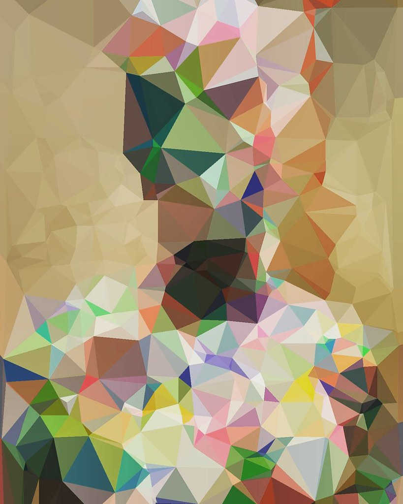 Polygons From My Painted Mannequin Polygon Polygons Ary