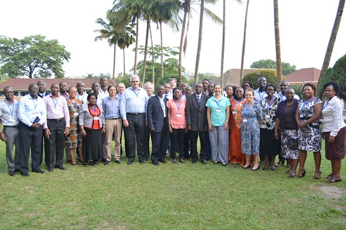 Mar/2017 - Participants at the livestock stakeholders' workshop held on 14th March 2017 at Hotel Africana, Kampala (photo credit: ILRI/Brian Kawuma).