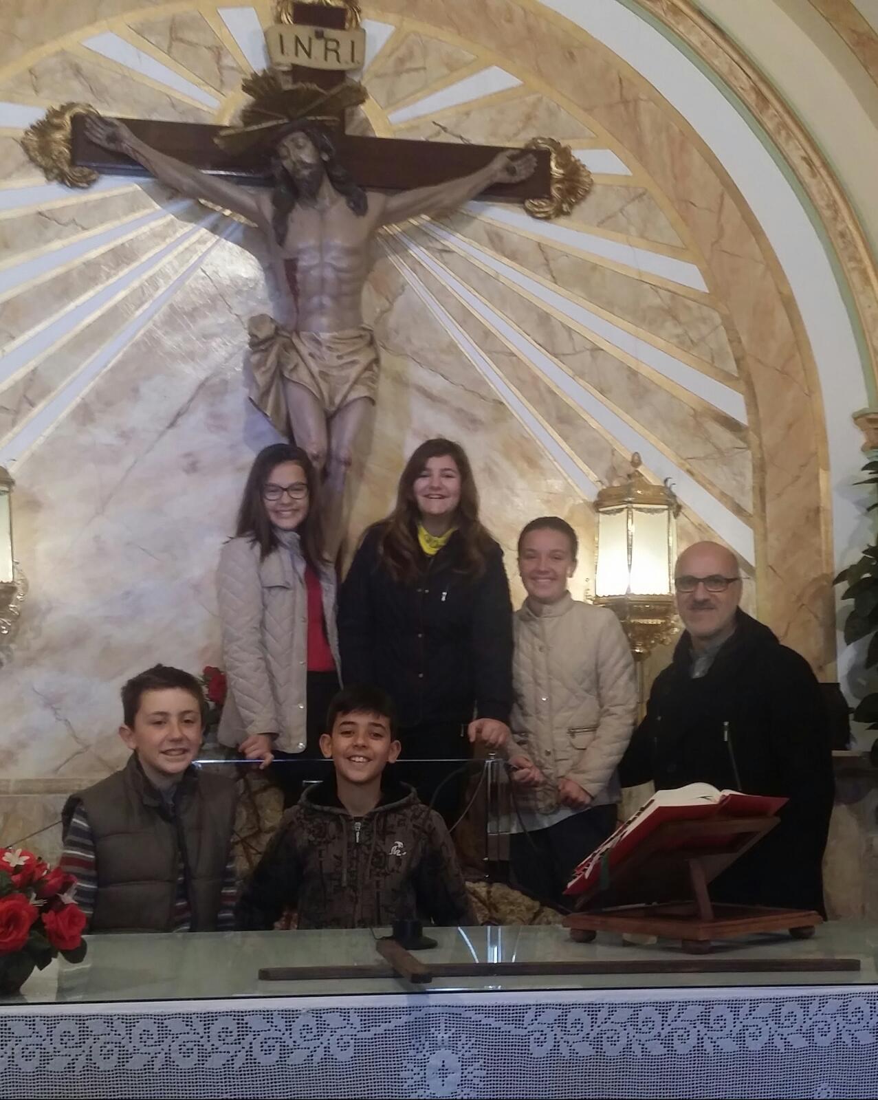 (2016-03-12) - 2º año de catequesis,  via crucis - Alberto Montesinos Villaplana (1)