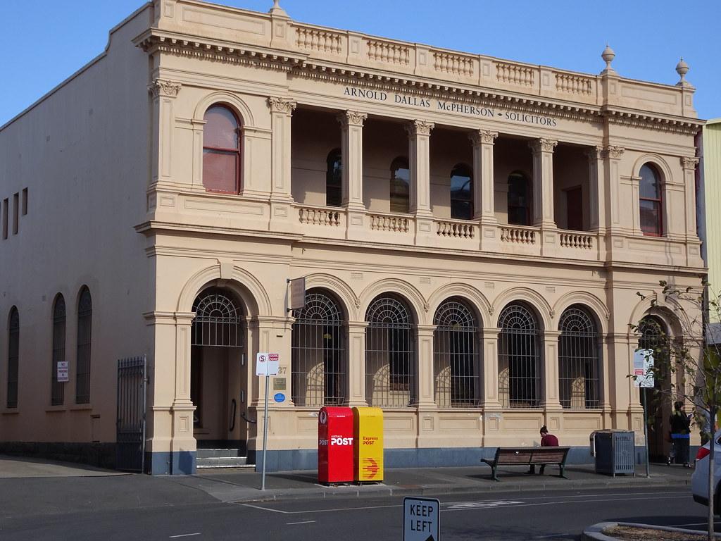 Bendigo  Classical Greek style lawyers offices  Originally… | Flickr