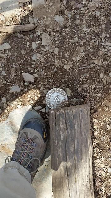 Appalachian Trail survey marker Appalachian Trail Park