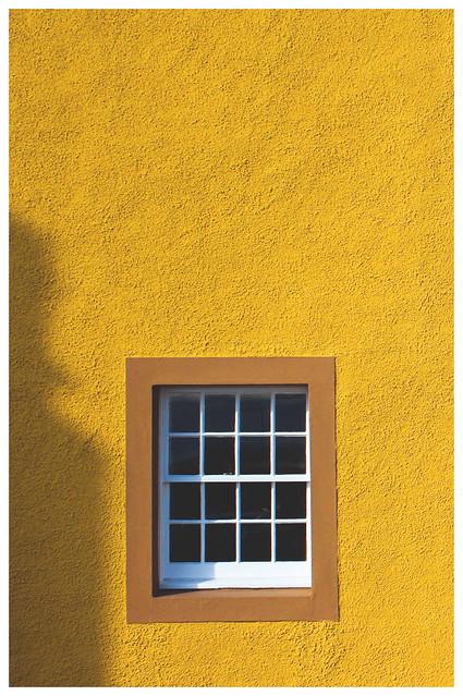 Yellow Wall, Window & Shadow, St Monans