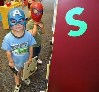 Superhero patrons   by Anoka County Library