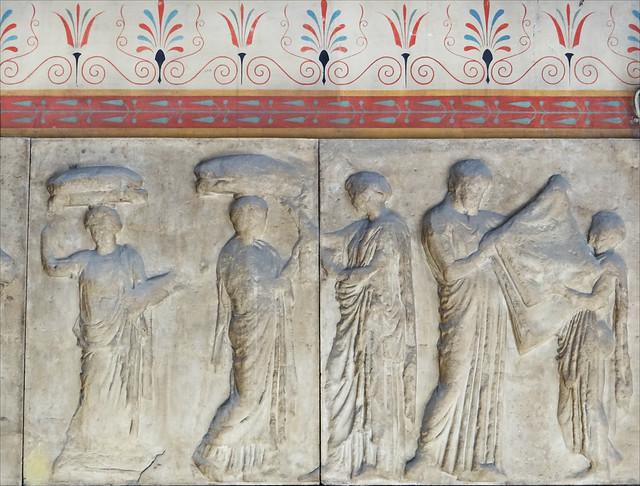 Décor du hall d'entrée (palais des Beaux-Arts, ENSBA)