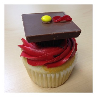 307/365 ~ Graduation Treat #food #cupcake #chocolate | by ray_explores