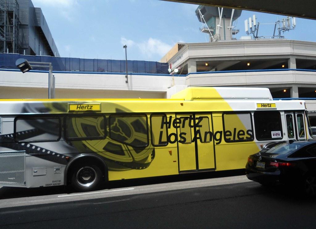Hertz Los Angeles Bus at LAX | PatricksMercy | Flickr