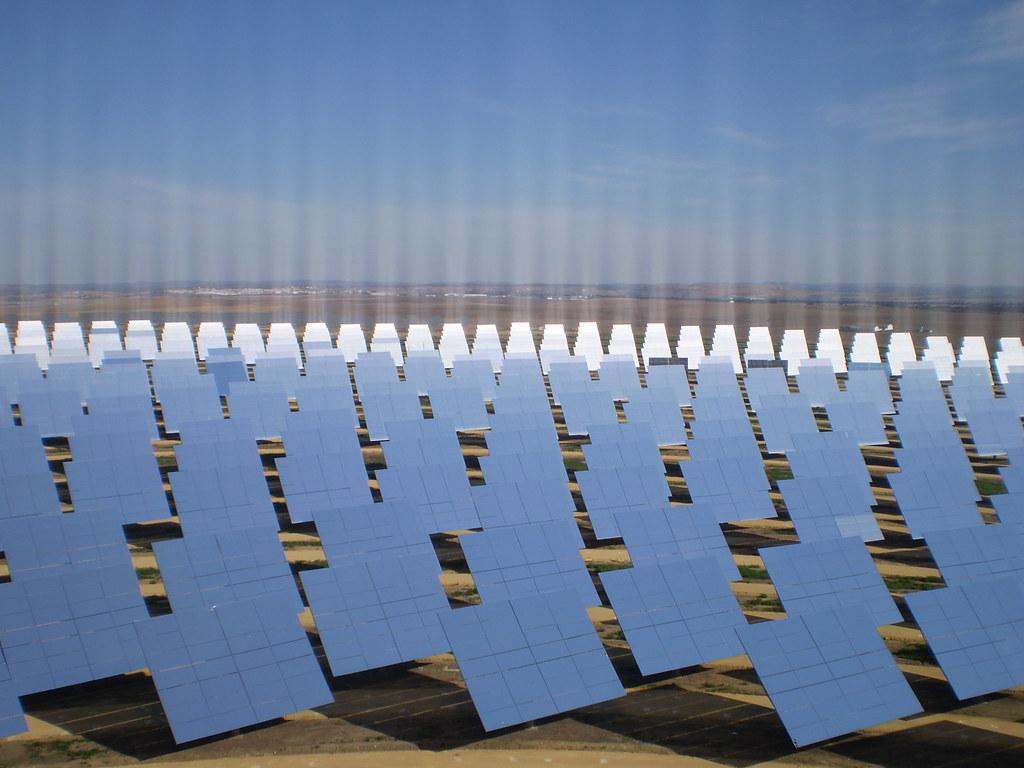 Mirror Field Gemasolar Solar Thermal Power Plant Spain Flickr