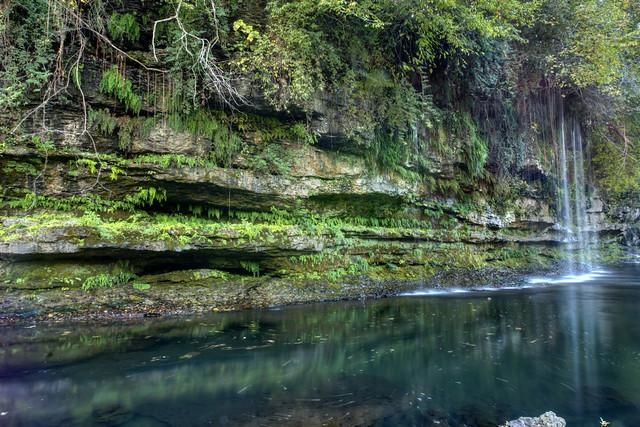 Unnamed waterfall, Rock Island SP, Warren Co, TN