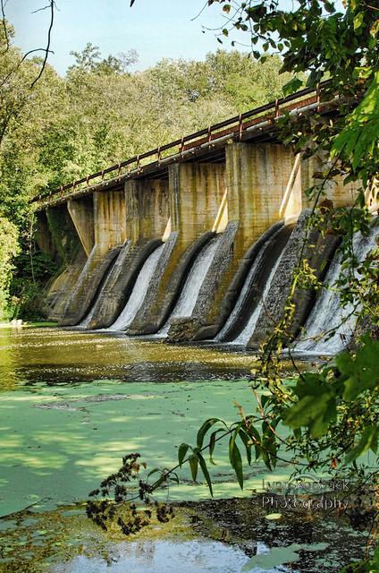 Burgess Falls Dam, Sparta, Tennessee