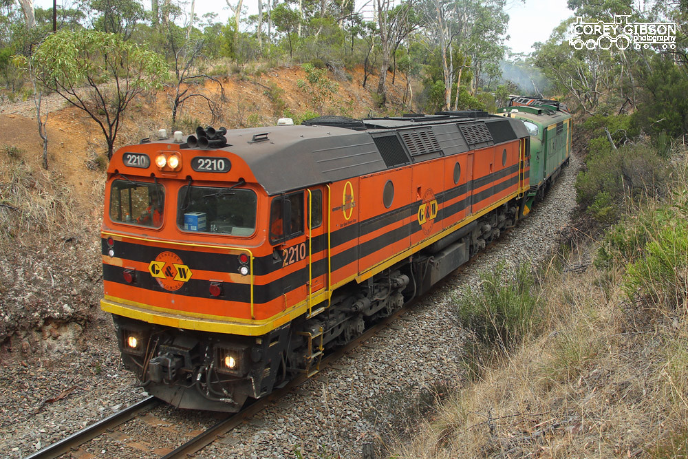 2210, GM40, 2214, CLF6, CLF5 with the Tailem Bend Grain by Corey Gibson
