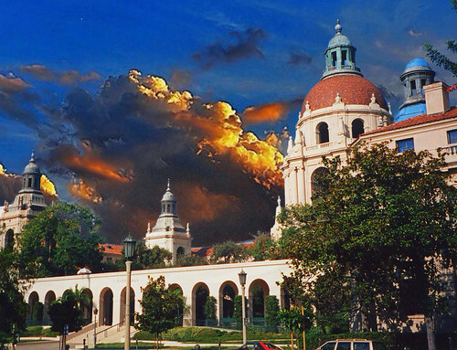 california ca city travel sunset sky architecture movie hall mediterranean district colonial dramatic style visit historic spanish historical pasadena tours setting sets attraction revival nrhp onasill