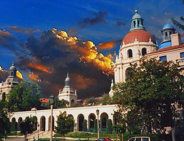 Pasadena CA  ~ Pasadena City Hall ~ Vintage Film