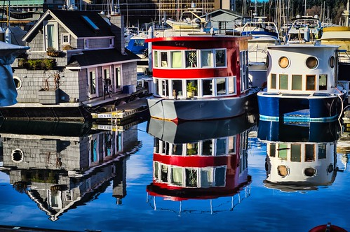 Houseboat Reflections | by James_R_Stewart