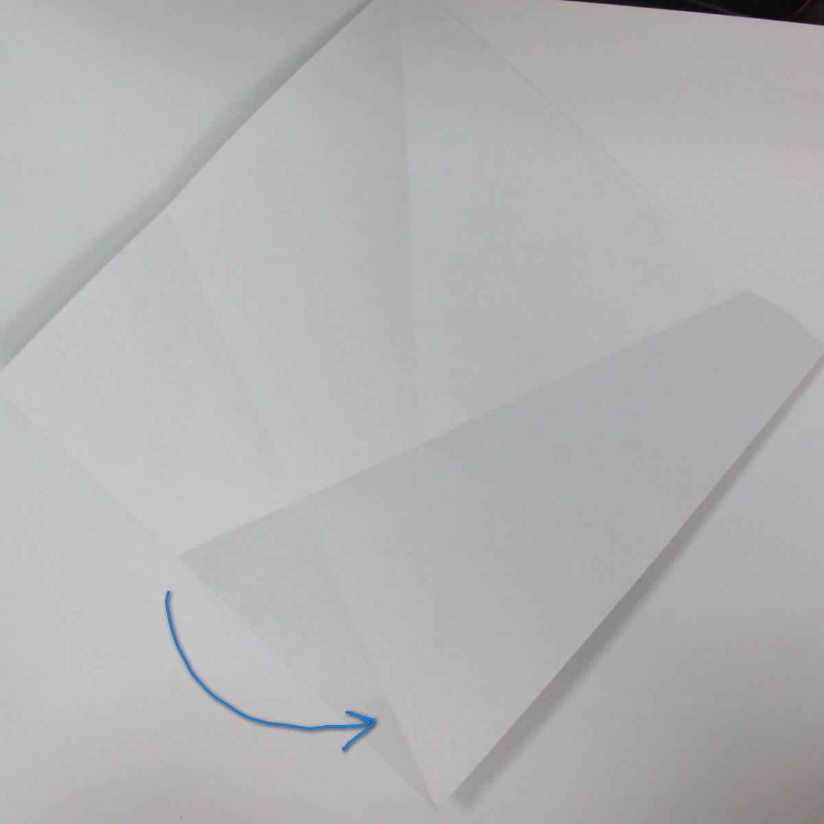 วิธีการพับกระดาษเป็นรูปม้า (Origami Horse) 006