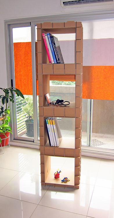 Modulo 3 Mueble Armado Con El Módulo Biblioteca Una Idea