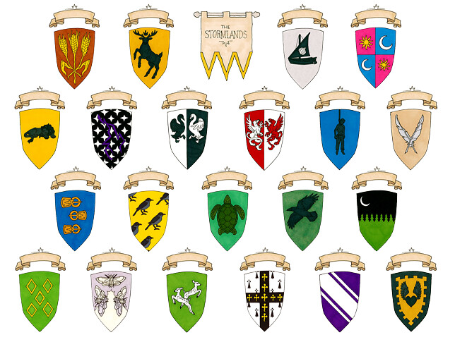 Houses Of The Stormlands