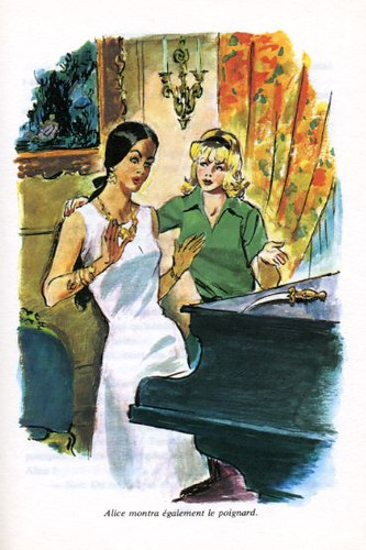 ALICE et le mannequin, by Caroline QUINE